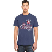 '47 Men's 2016 World Series Champions Chicago Cubs Royal Scrum T-Shirt