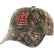 '47 Men's St. Louis Cardinals Realtree Camo Clean Up Adjustable Hat
