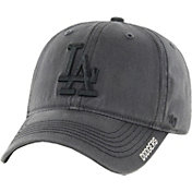 '47 Men's Los Angeles Dodgers Nightfall Closer Grey Fitted Hat