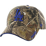 '47 Men's Los Angeles Dodgers Realtree Camo Frost MVP Adjustable Hat
