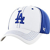 '47 Men's Los Angeles Dodgers Cooler MVP White/Royal Adjustable Hat