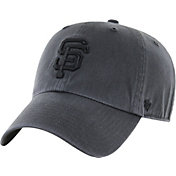 '47 Men's San Francisco Giants Charcoal Clean Up Adjustable Hat