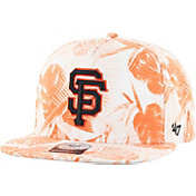 '47 Men's San Francisco Giants Ohana Captain Orange Adjustable Hat