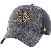 '47 Men's Oakland Athletics Zonda MVP Black Adjustable Hat