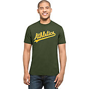 '47 Men's Oakland Athletics MVP Splitter Green T-Shirt