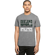 '47 Men's Oakland Athletics Grey Club T-Shirt