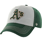 '47 Men's Oakland Athletics McGraw Clean Up Grey/Green Adjustable Hat