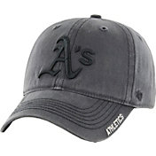 '47 Men's Oakland Athletics Nightfall Closer Grey Fitted Hat