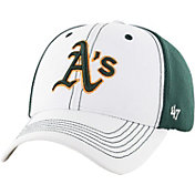 '47 Men's Oakland Athletics Cooler MVP White/Green Adjustable Hat