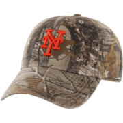 '47 Men's New York Mets Realtree Camo Clean Up Adjustable Hat