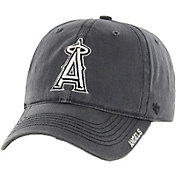 '47 Men's Los Angeles Angels Nightfall Closer Grey Fitted Hat
