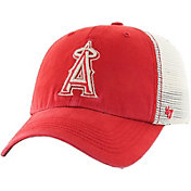 '47 Men's Los Angeles Angels Rockford Closer Red/White Fitted Hat