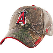 '47 Men's Los Angeles Angels Realtree Camo Frost MVP Adjustable Hat