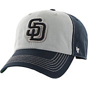 '47 Men's San Diego Padres McGraw Clean Up Grey/Navy Adjustable Hat