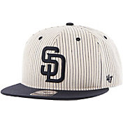 '47 Men's San Diego Padres Woodside Captain Pinstripe Adjustable Hat