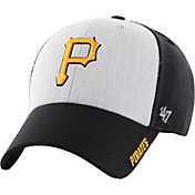 '47 Men's Pittsburgh Pirates Beta MVP Black Adjustable Hat