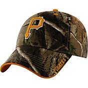 '47 Men's Pittsburgh Pirates Realtree Camo Frost Adjustable Hat