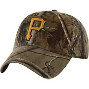 '47 Men's Pittsburgh Pirates Realtree Camo Clean Up Adjustable Hat