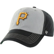 '47 Men's Pittsburgh Pirates McGraw Clean Up Black Adjustable Hat