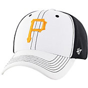 '47 Men's Pittsburgh Pirates Cooler MVP White/Black Adjustable Hat