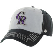 '47 Men's Colorado Rockies McGraw Clean Up Grey/Black Adjustable Hat