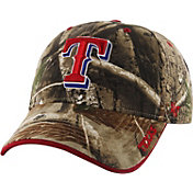 '47 Men's Texas Rangers Realtree Camo Frost Adjustable Hat