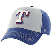 '47 Men's Texas Rangers McGraw Clean Up Grey/Royal Adjustable Hat