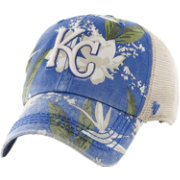 '47 Men's Kansas City Royals Biscanye Clean Up Adjustable Hat