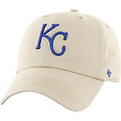 '47 Men's Kansas City Royals Fresno Franchise Cream Fitted Hat