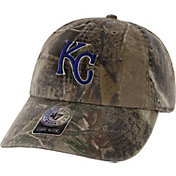 '47 Men's Kansas City Royals Realtree Camo Clean Up Adjustable Hat