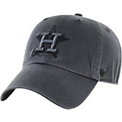 '47 Men's Houston Astros Grey Clean Up Adjustable Hat
