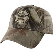 '47 Men's Houston Astros Realtree Camo Frost MVP Adjustable Hat