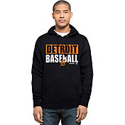 '47 Men's Detroit Tigers Navy Headline Pullover Hoodie