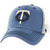 '47 Men's Minnesota Twins Rockford Closer Navy/White Fitted Hat