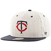 '47 Men's Minnesota Twins Woodside Captain Pinstripe Adjustable Hat