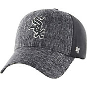 '47 Men's Chicago White Sox Zonda MVP Black Adjustable Hat