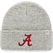 '47 Men's Alabama Crimson Tide Heathered Grey Brain Freeze Cuffed Knit