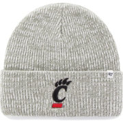 '47 Men's Cincinnati Bearcats Heathered Grey Brain Freeze Cuffed Knit