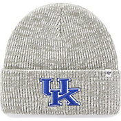 '47 Men's Kentucky Wildcats Heathered Grey Brain Freeze Cuffed Knit