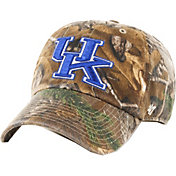 '47 Men's Kentucky Wildcats Camo Clean Up Adjustable Hat