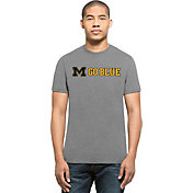 '47 Men's Michigan Wolverines Grey 'Go Blue' Club T-Shirt