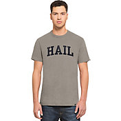'47 Men's Michigan Wolverines Grey 'Hail' Scrum T-Shirt