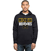 '47 Men's Michigan Wolverines Blue Headline Hoodie