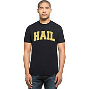 '47 Men's Michigan Wolverines Blue 'Hail' Club T-Shirt