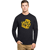 '47 Men's Michigan Wolverines Blue Vault Club Long Sleeve Shirt