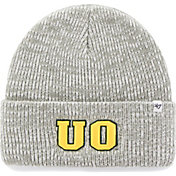'47 Men's Oregon Ducks Heathered Grey Brain Freeze Cuffed Knit