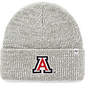 '47 Men's Arizona Wildcats Heathered Grey Brain Freeze Cuffed Knit