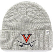 '47 Men's Virginia Cavaliers Heathered Grey Brain Freeze Cuffed Knit
