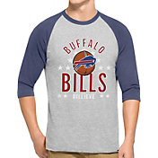 '47 Men's Buffalo Bills Lockdown Raglan Grey Shirt