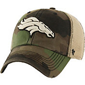 '47 Men's Denver Broncos Burnett Adjustable Camouflage Hat